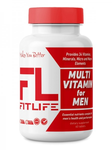 FitLife Multivitamin for Men 60 tabs