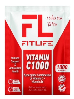 FitLife Vitamin C1000+ 20 caps