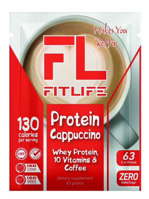 FitLife Protein Cappuccino 40 grams