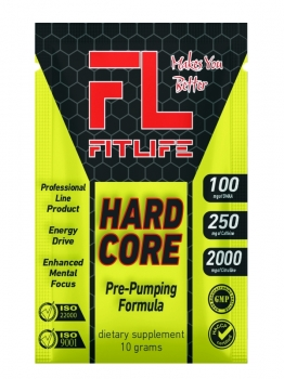 FitLife Hardcore 10 g